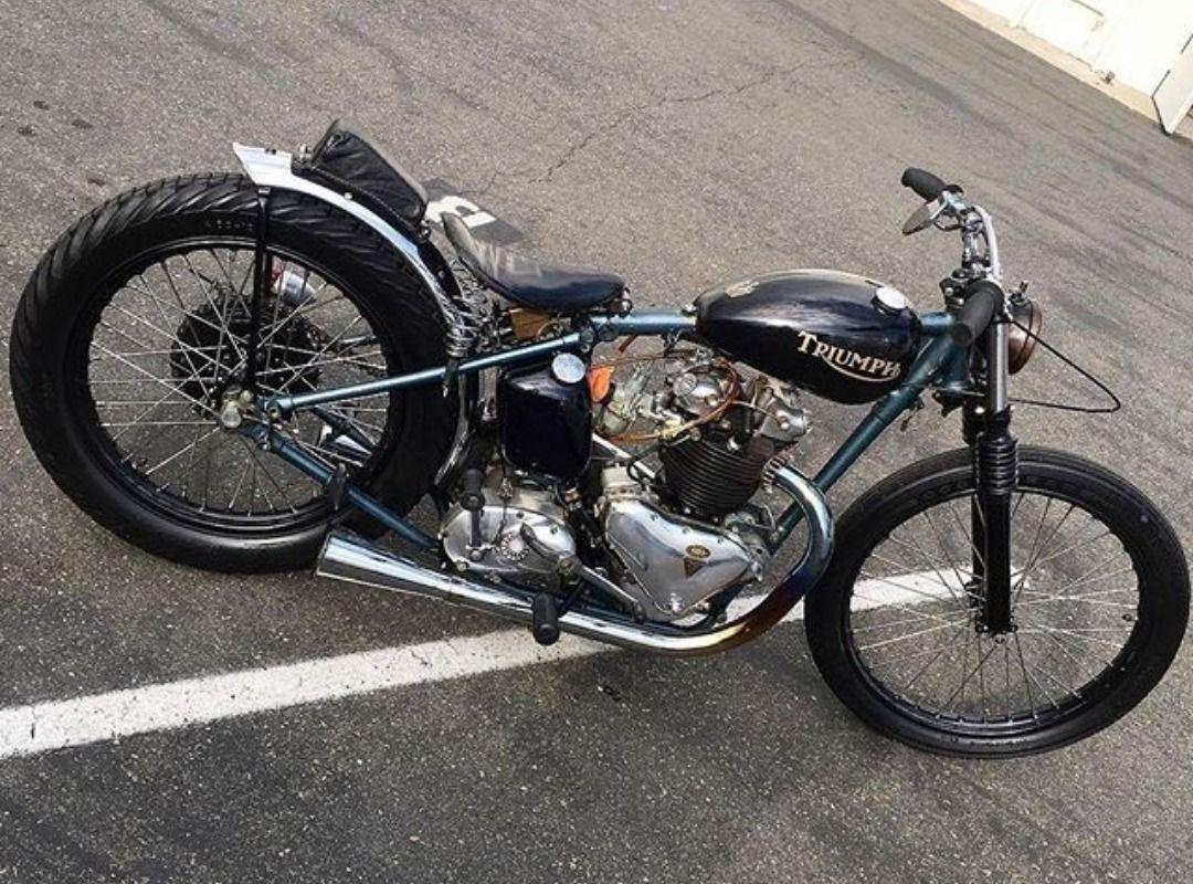 Niq13stuff Triumph Bobber Triumph Bobber Bobber Bikes Bobber Motorcycle