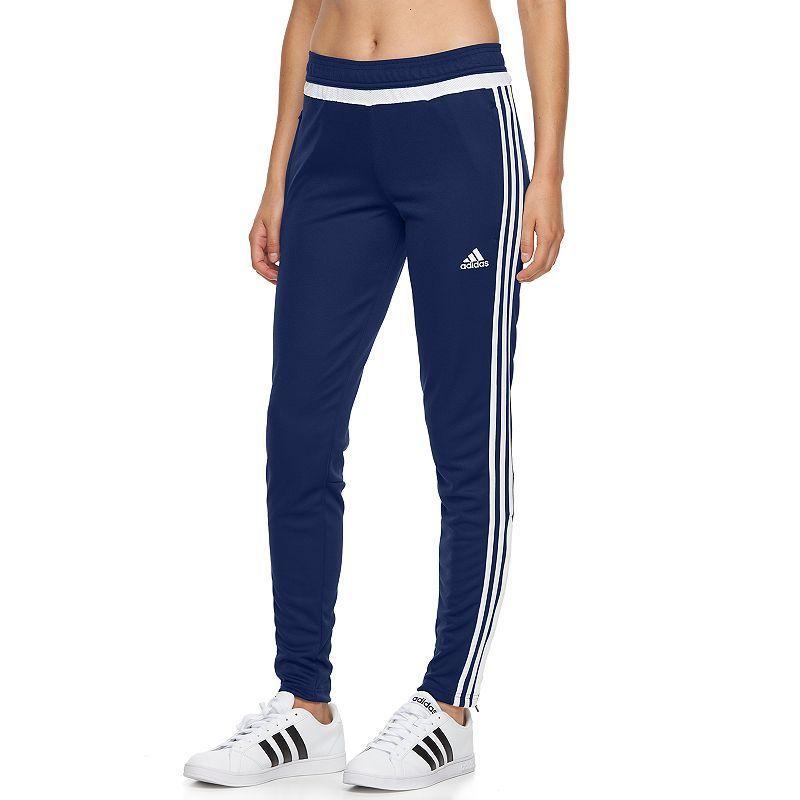 navy blue adidas soccer pants