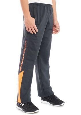 b98d665cb Under Armour Brawler 2.0 Pants Boys 8-20 - Gray Magma Orange - M ...