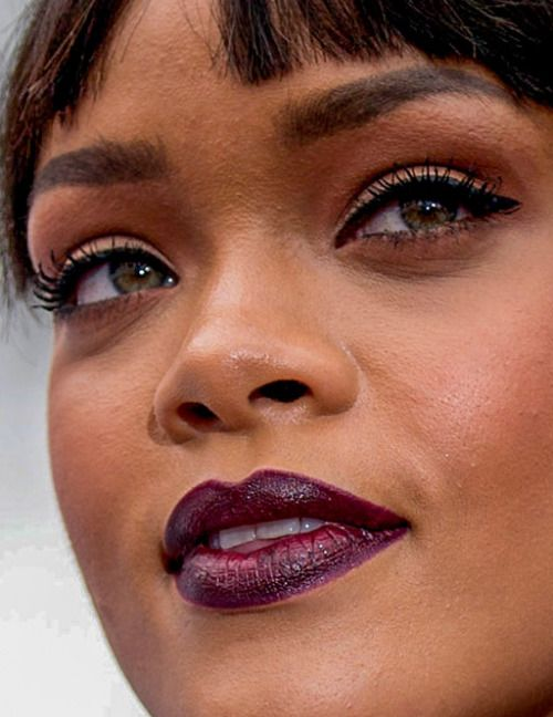 rihanna rihanna makeup red carpet celebrity closeup celebs