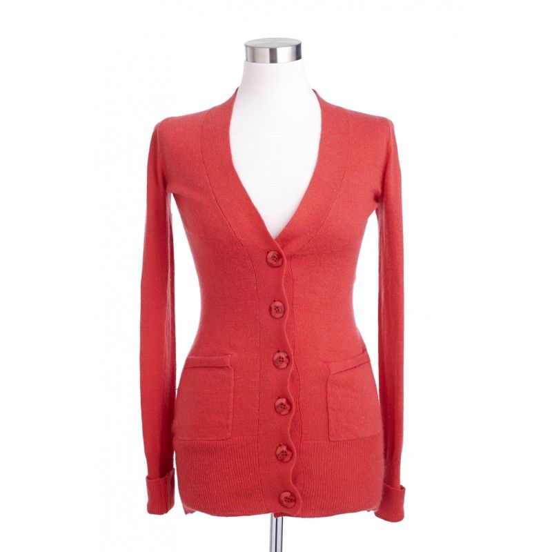 Ripe Red Cardigan