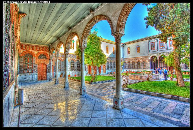 Office Of The Ward Damascus Syria مكتب عنبر بدمشق مكان جميل بكل معنى الكلمة Be Comfortable And Pro Damascus Syria House Styles Ergonomic Solutions
