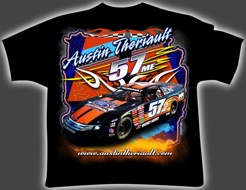 Race car shirt designs the image kid for Custom racing t shirts
