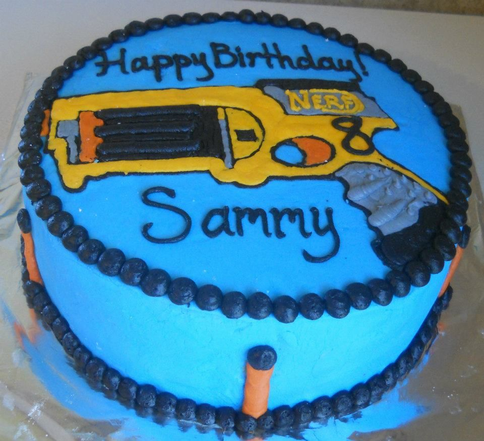 Nerf Cake Cakes And Party
