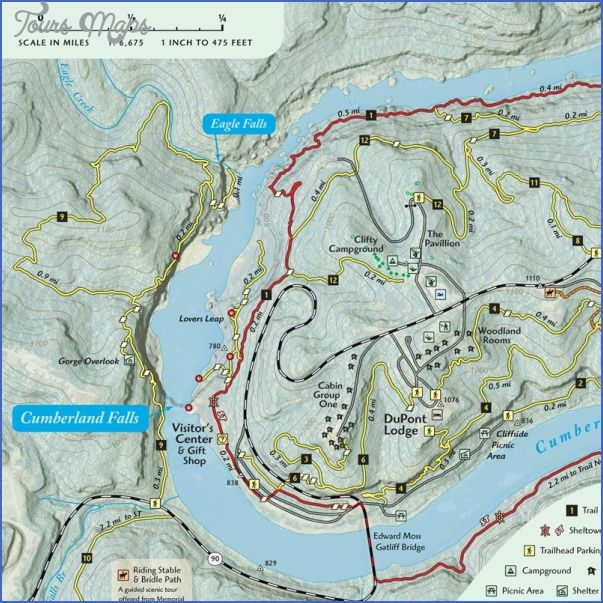 awesome CUMBERLAND TRAIL MAP TENNESSEE | Tours Maps in 2019 | Trail ...