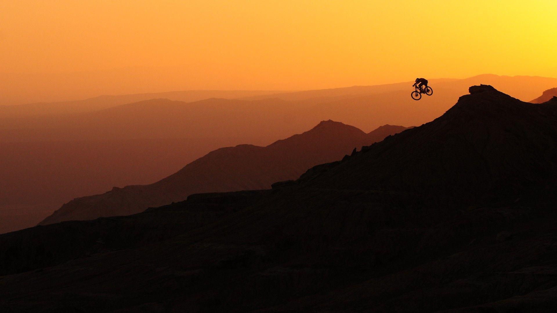 Downhill Bike Wide Wallpaper Free Download HD Wallpapers