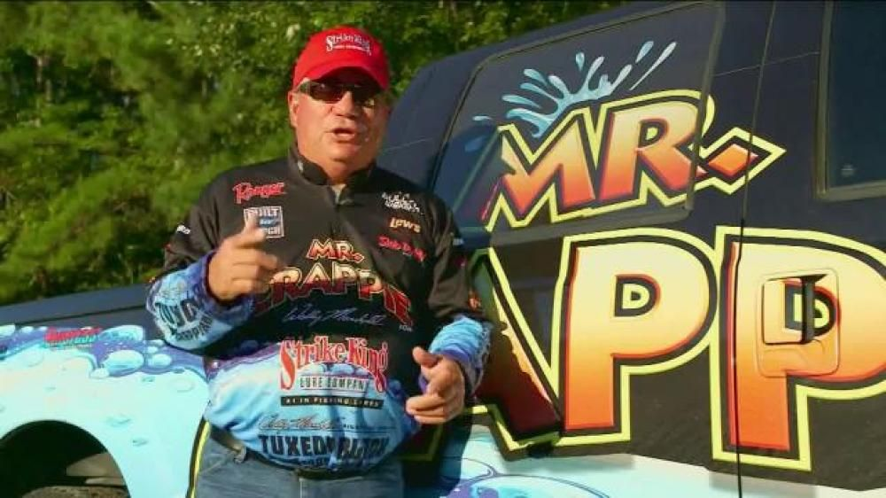 crappie fishing tv shows       Product Strike King Mr  Crappie and
