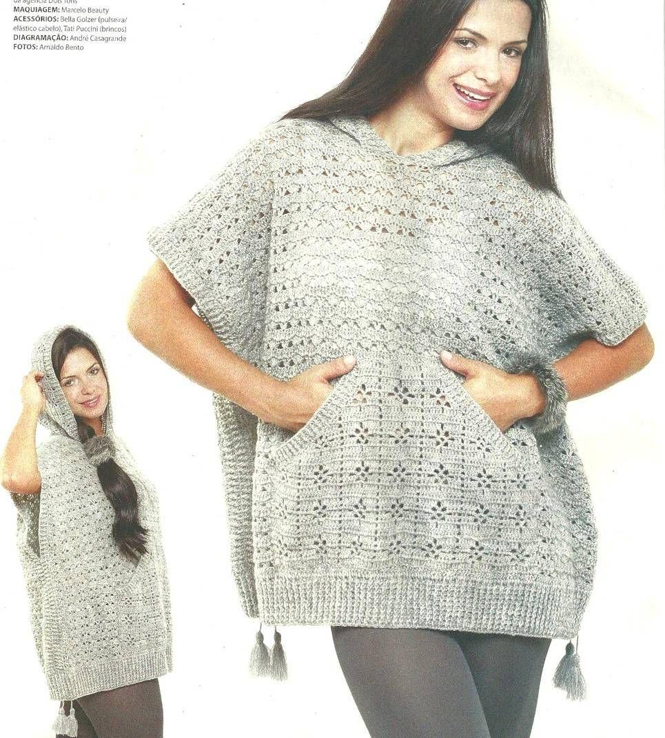 Delicadezas en crochet Gabriela: 3 Patrones de chal | беременность ...