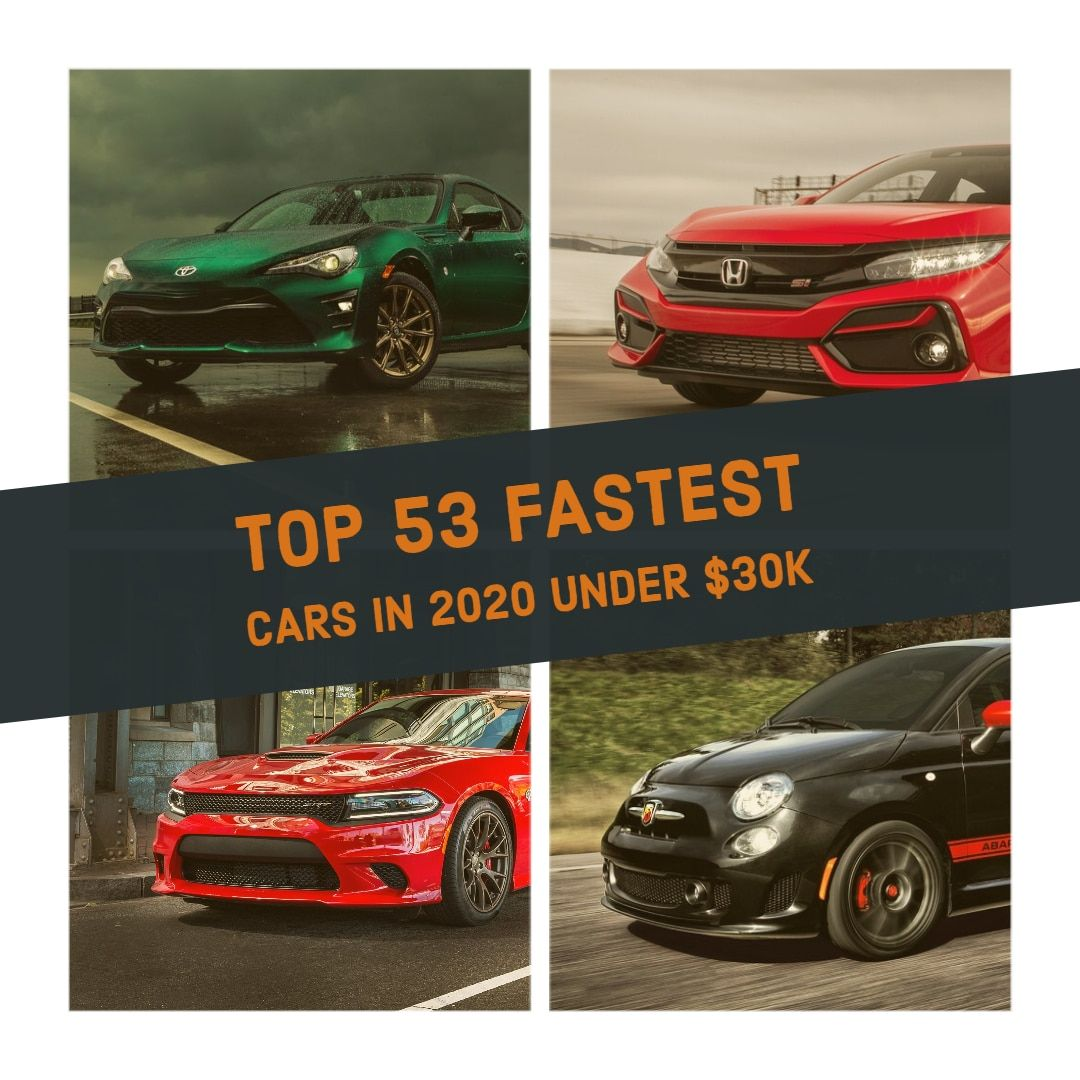 Best Cars Under 30000 Best Sports Cars Under 30K (2020