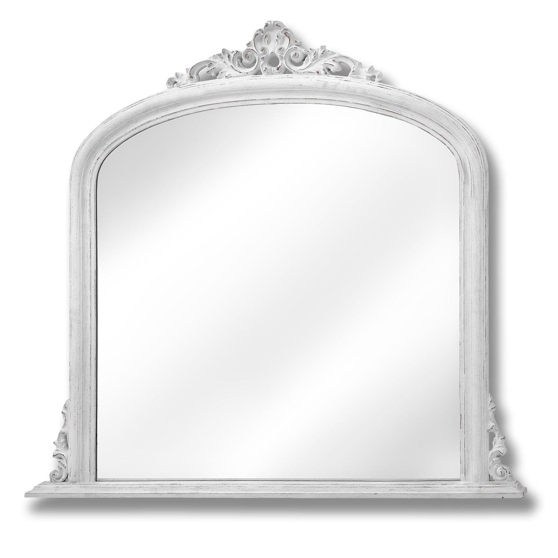Denain Over Mantle Mirror Mantle Mirror Mantel Mirrors Overmantle Mirror