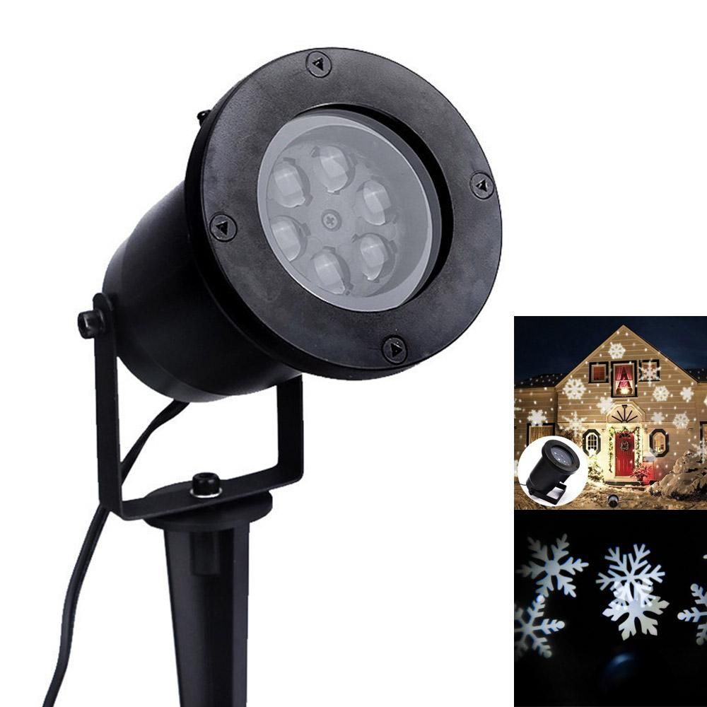Waterproof Led Stage Light Laser Projector Lamp Santa Claus Heart Snow Christmas Landscape Garden Outdoor Lighting Led Stage Lights Garden Lamps Stage Lighting