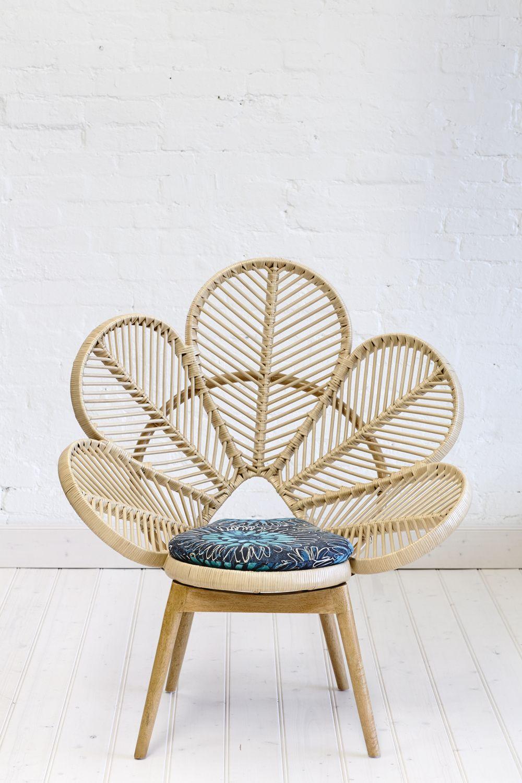 Painted peacock chair - Shop Chairs Love Chair Love Chair Natural