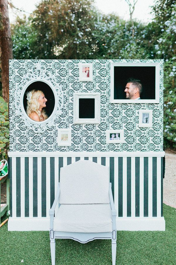 Wedding Photo booth - Wedding Decorations | Fab Mood #summerwedding