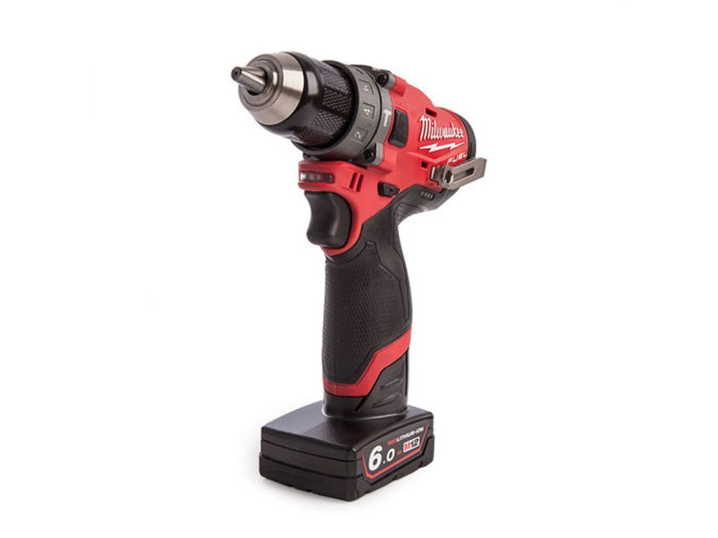 Milwaukee m12fpd602x 12v fuel percussion drill with
