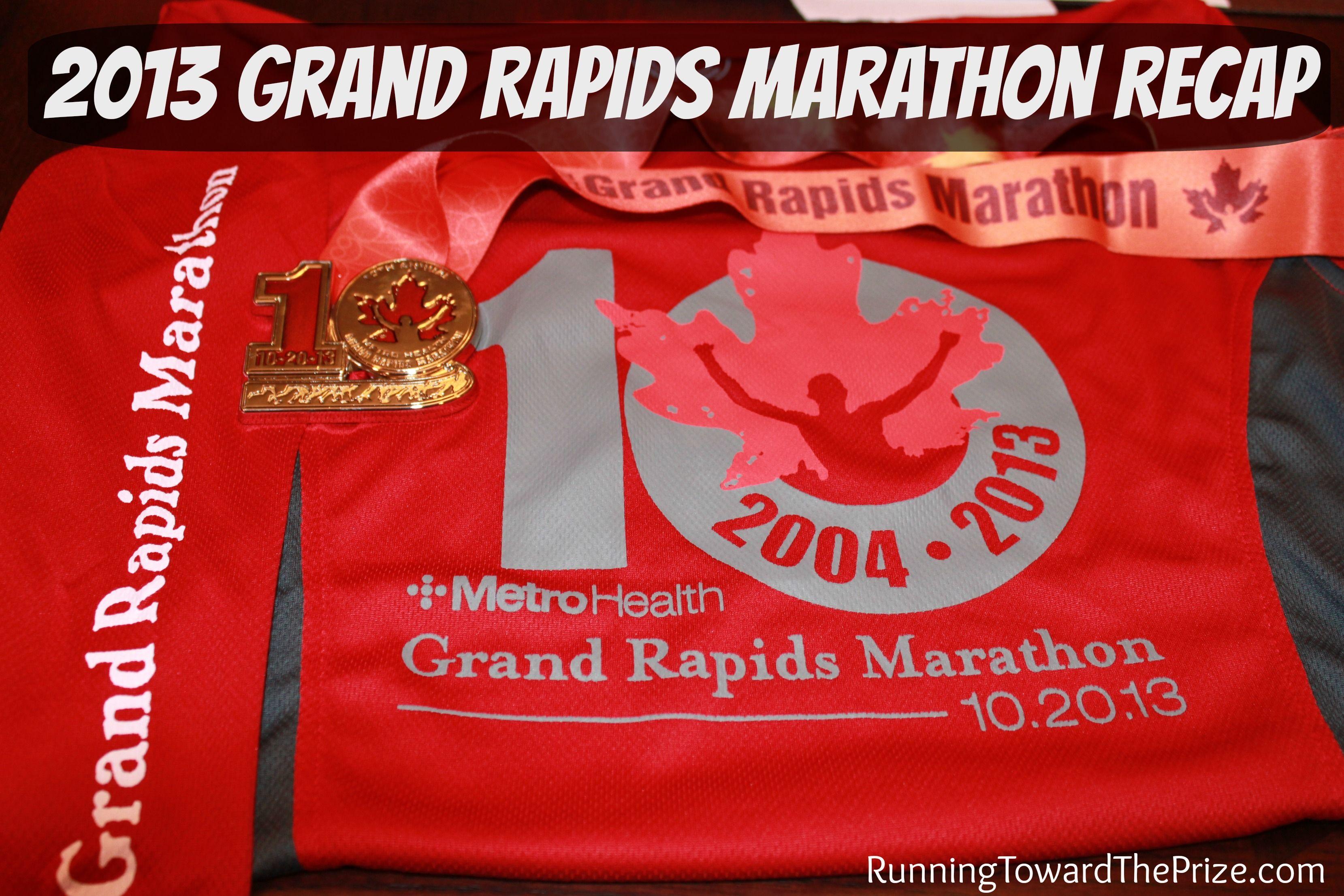 2013 grand rapids marathon with images marathon grand