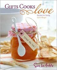 A beautiful hardcover book that all cooks will love. It will inspire you to always give food as a gift.