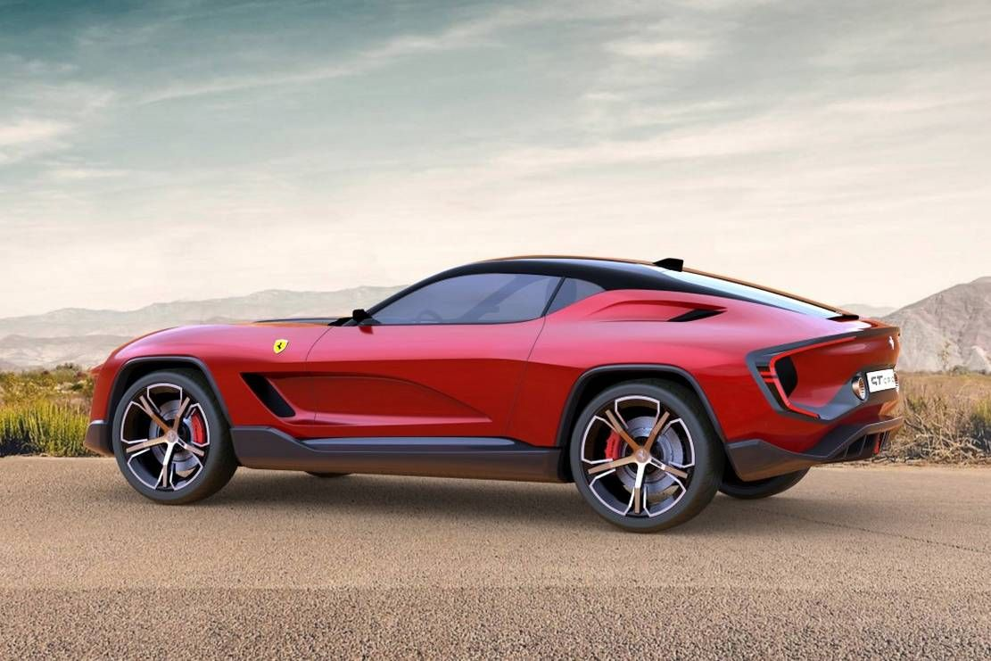 Ferrari Gt Cross Suv Concept Wordlesstech In 2020 Ferrari Suv Design