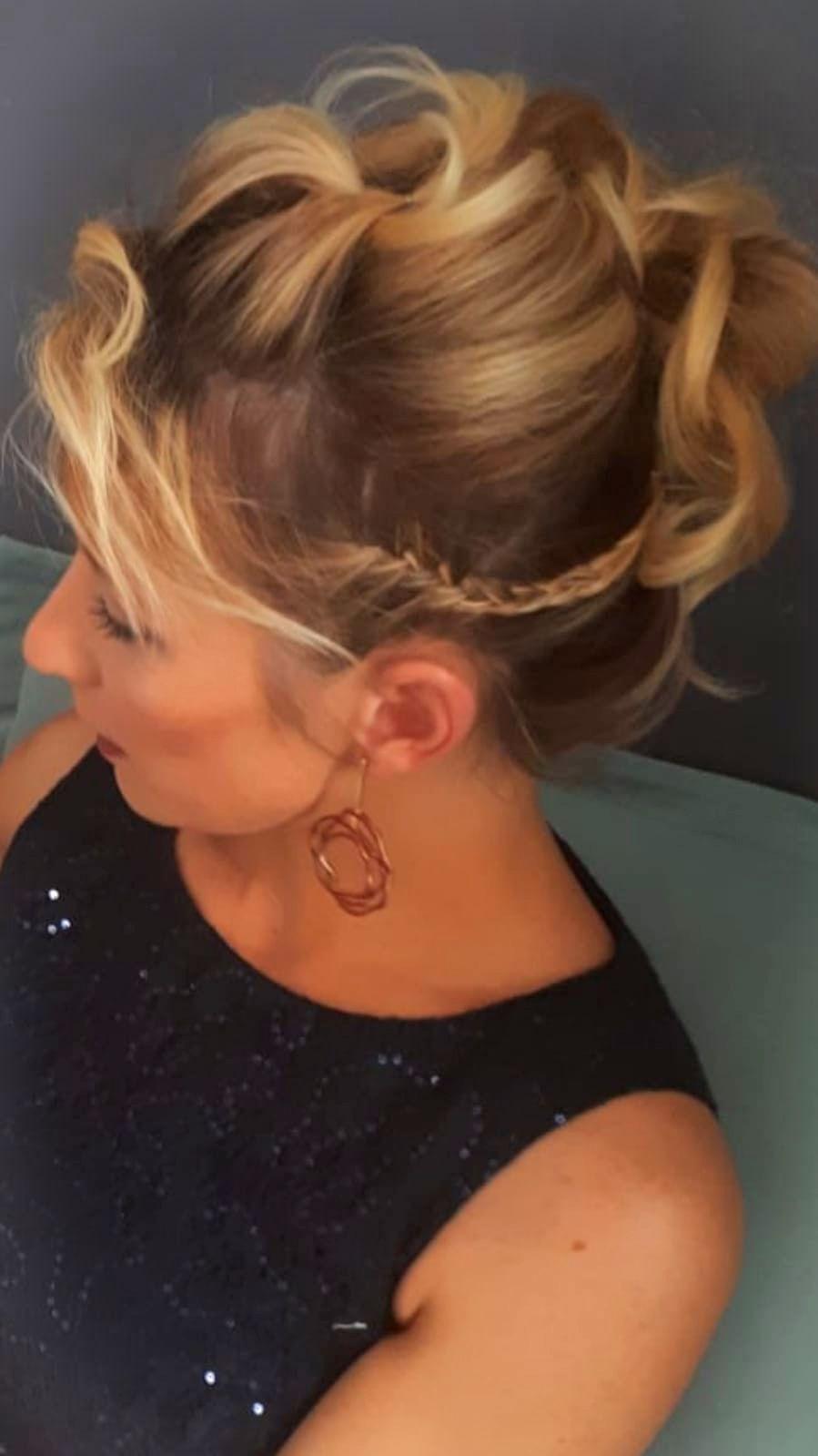 hochsteckfrisur für dünne haare haare selber färben