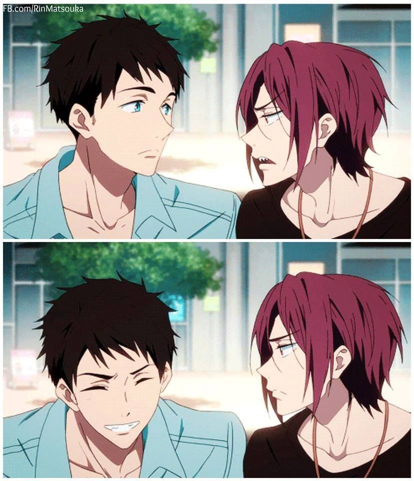 Sousuke X Rin - Year of Clean Water