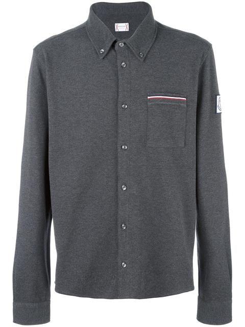 Long Sleeve Polo Shirt | Moncler Gamme Bleu Men | Pinterest | Moncler, Long sleeve polo and Polo shirts