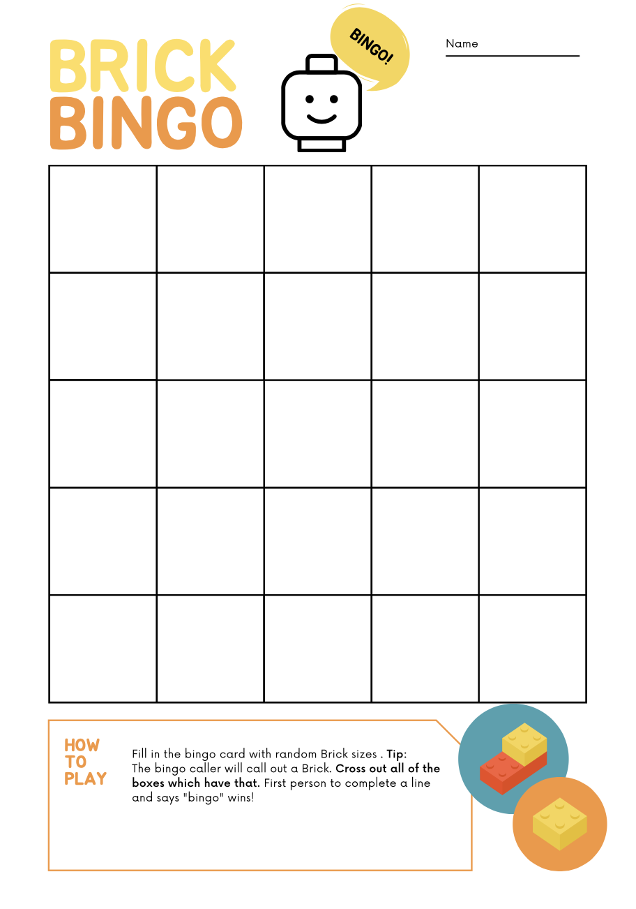 Free Lego Brick Bingo Printable Help My Kids Are Bored Bingo Printable Free Lego Lego [ 1302 x 912 Pixel ]