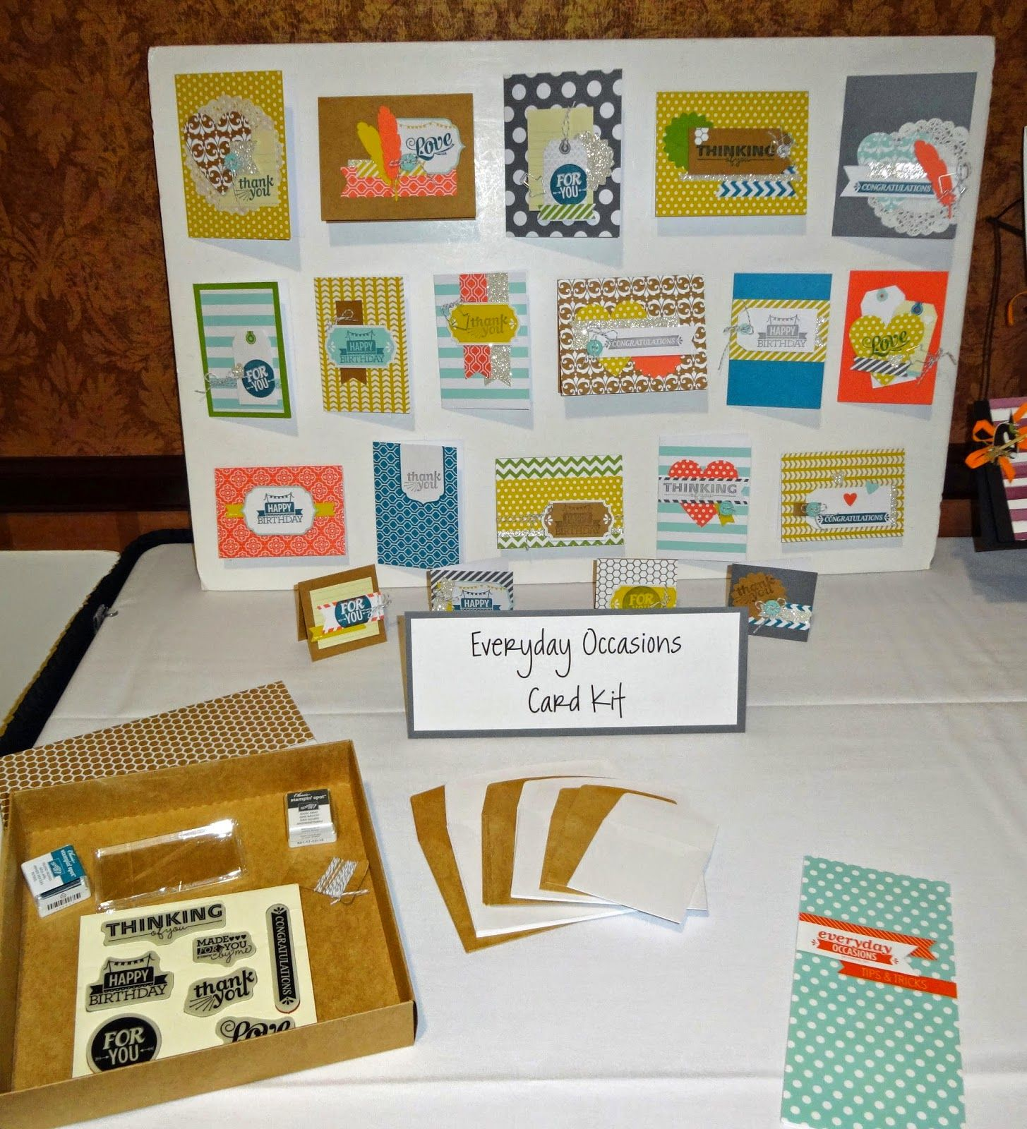 Unite Everyday Occasions Card Kit