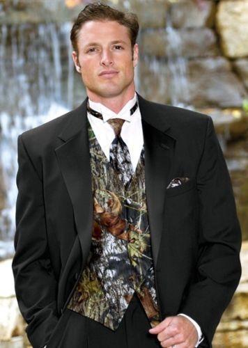 Camouflage Tuxedo Vest Ebay