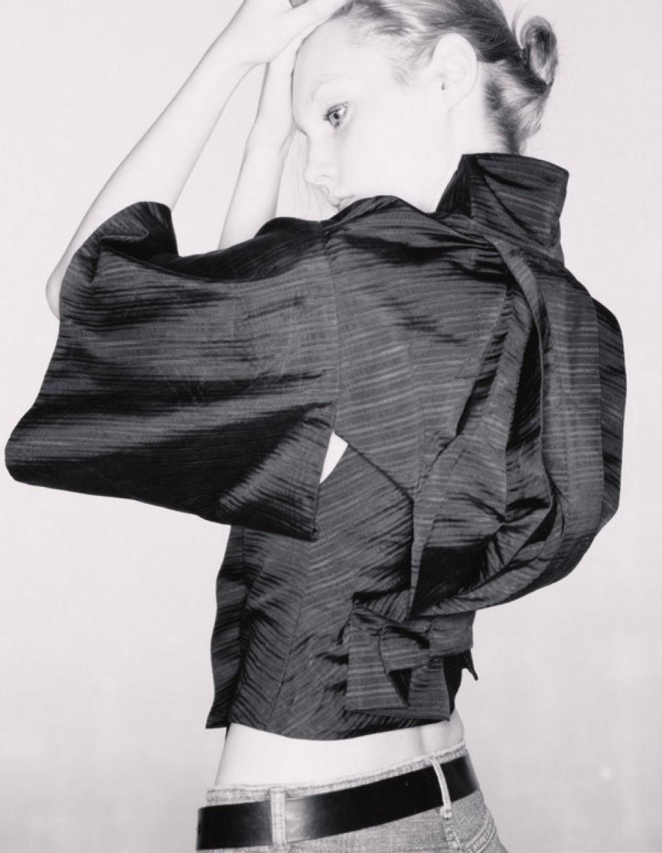 Free Alexander McQueen Downloadable pattern - Kimono Jacket | sewing ...