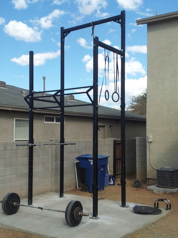 Rogue equipped garage gyms photo gallery how to build