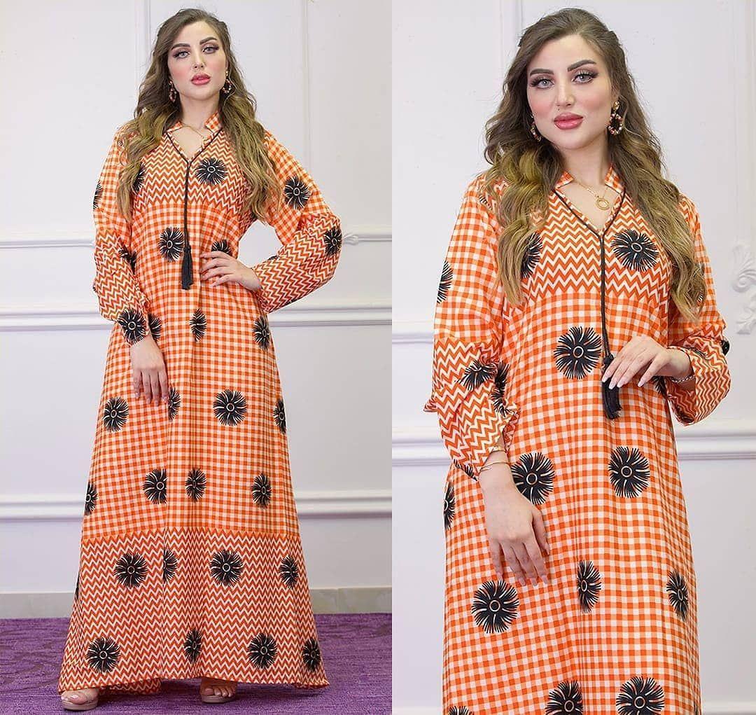 12 Likes 0 Comments متجر فساتين و جلابيات Fasatin Dubai On Instagram جلابيه قطن ناعم تطريز متوفر M L Xl Dresses With Sleeves Long Sleeve Dress Dresses