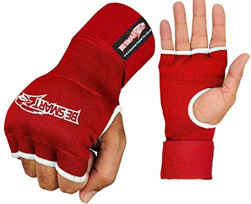 Inner Gloves Gel MMA Kickboxing Punch Bag UFC Hand Wraps Bandage mitt fight M