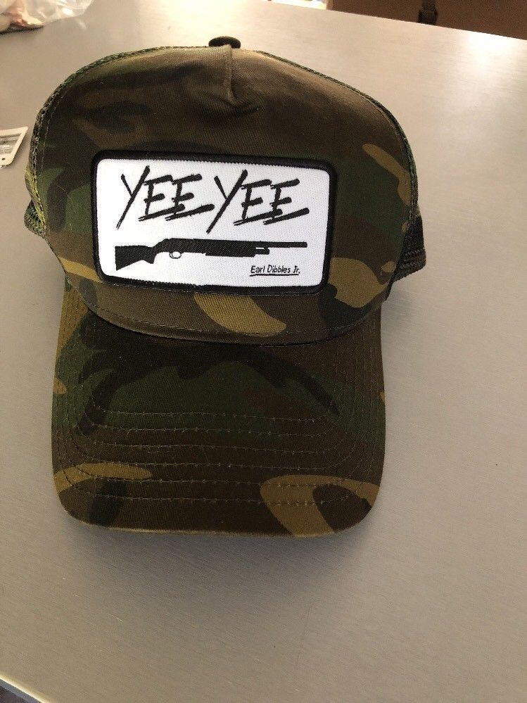 e657570435055 YEE YEE Earl Dibbles Jr Camo Hat SnapBack Granger Smith  fashion  clothing   shoes  accessories  mensaccessories  hats (ebay link)
