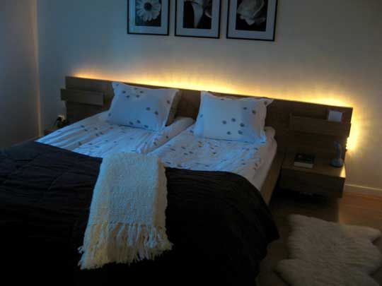 Love The Lights Respaldos De Cama Madera Decoracion De