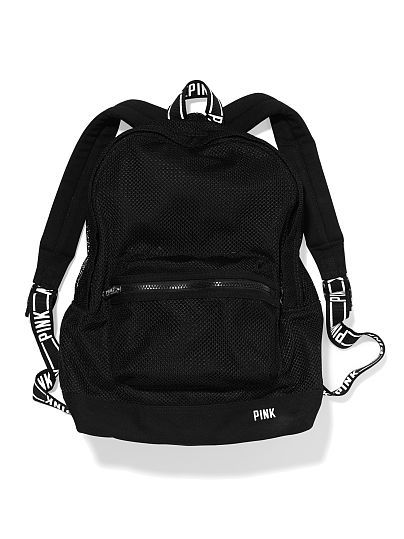 21e37bee67 Classic Mesh Backpack PINK http   www.victoriassecret.com pink