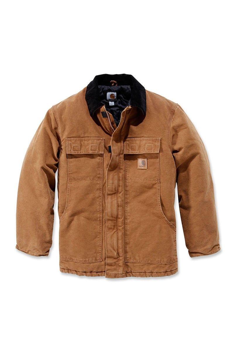 4306f1f99e Carhartt Men's Sandstone Traditional Coat - Best Workwear | Jackets ...