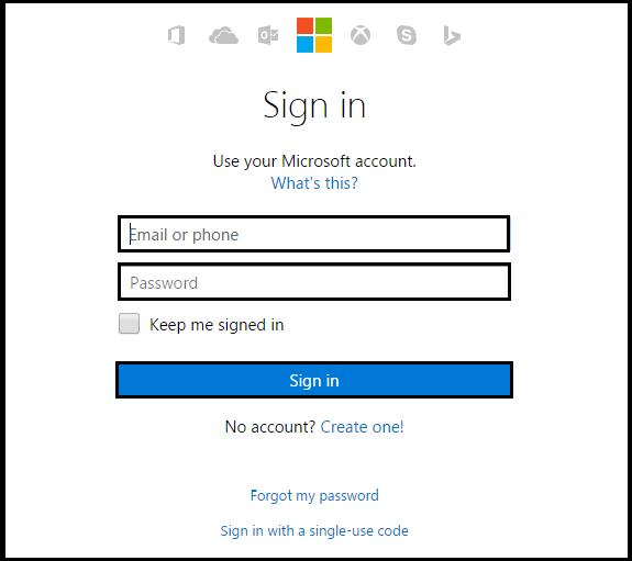 Hotmail Login 1 Open Hotmail In Web Browser Signup Signs