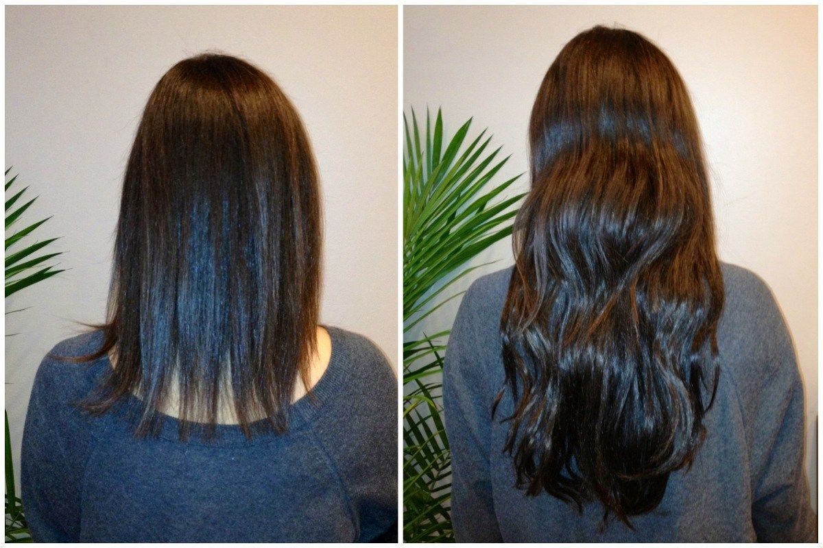 Permanent Hair Extension In Noida Hair Extensions Extensions And