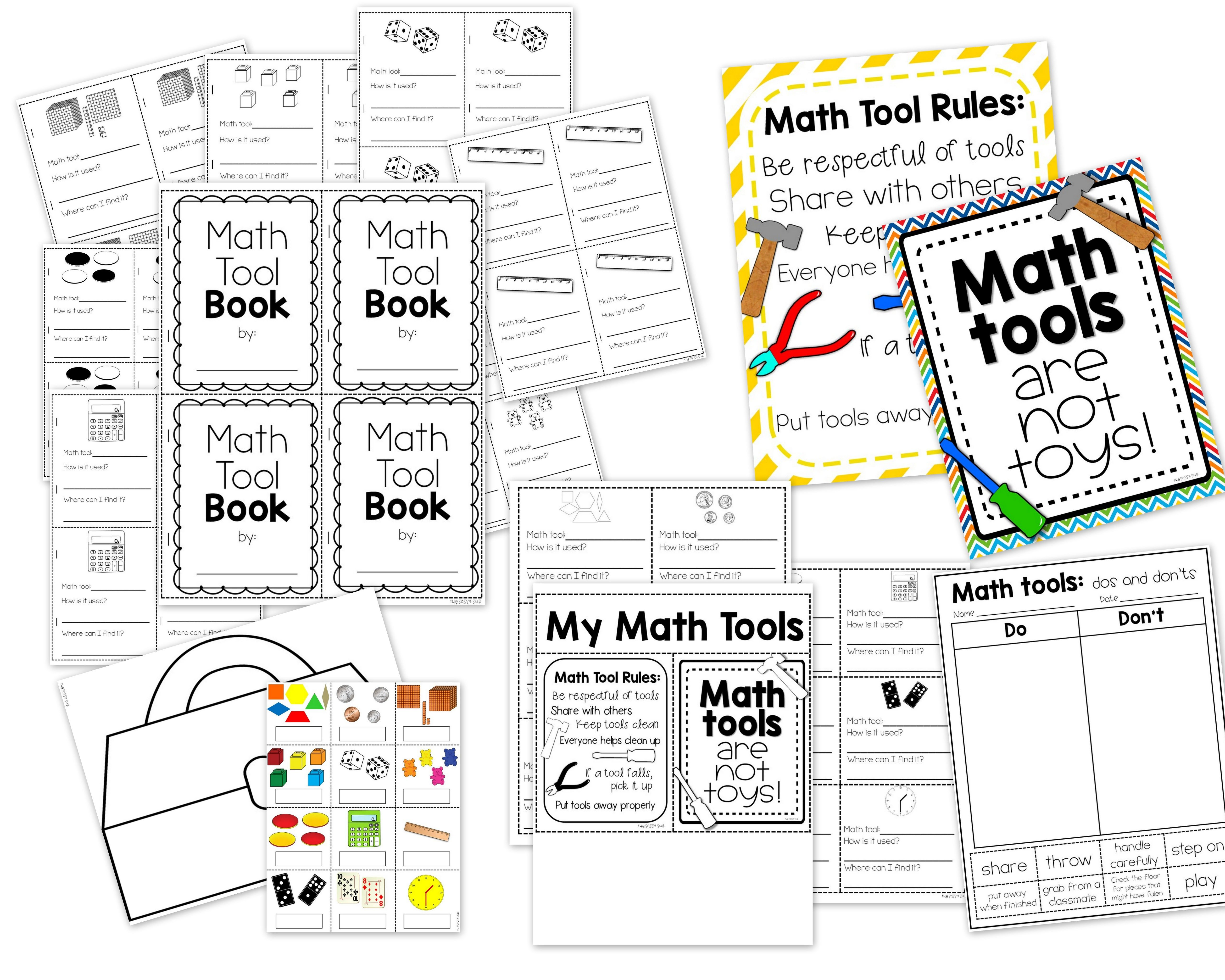 Math Manipulatives Activities And A Craft For Setting