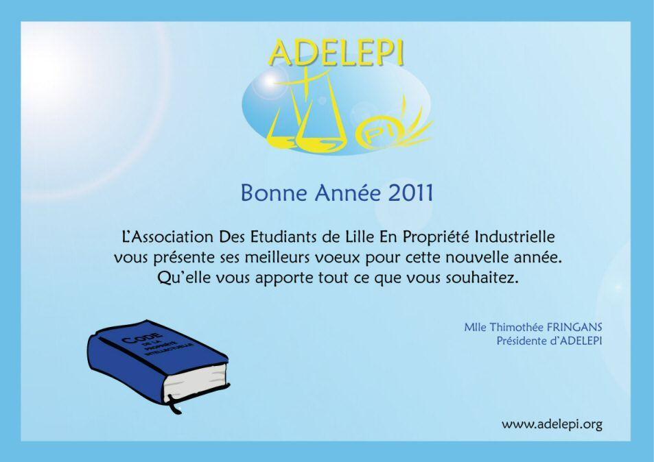 Vœux ADELEPI 2011   www.adelepi.org