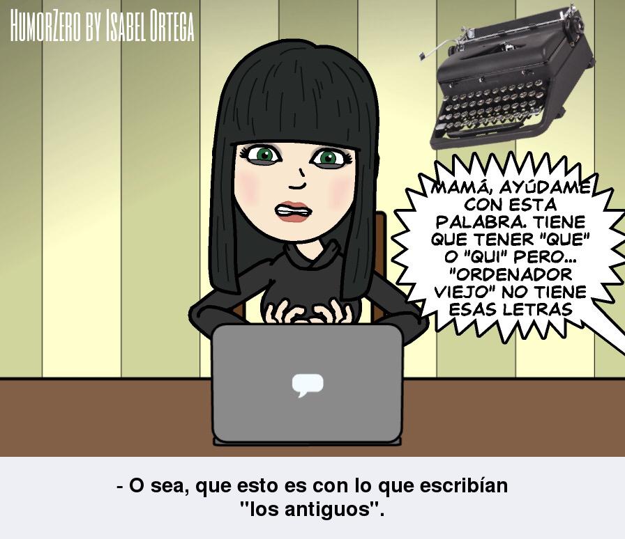 HumorZero by Isabel Ortega Viñetas de #humor con las cosas corrientes de una famiia contracorriente :)