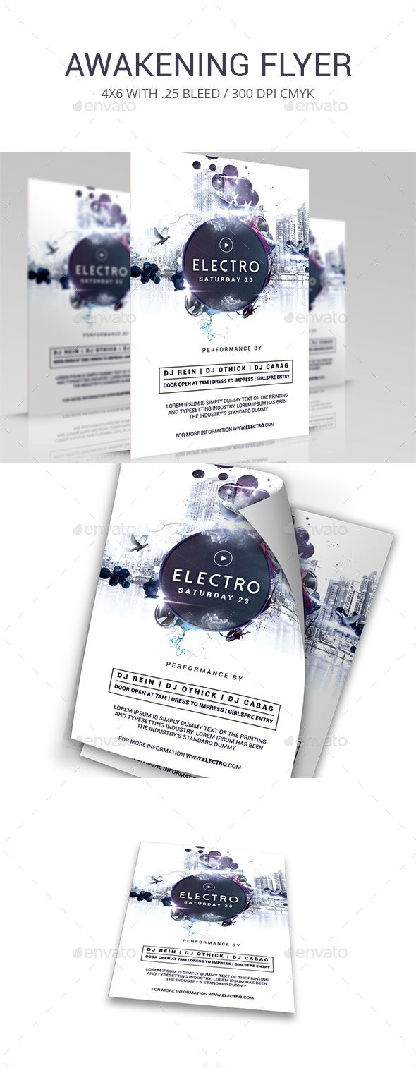 Electro | Pinterest | Electro music, Event flyers and Font logo