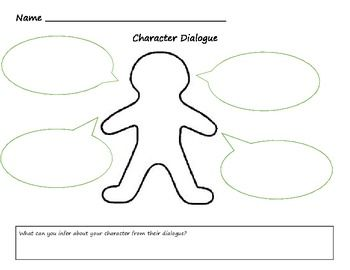 This is a graphic organizer for students to document