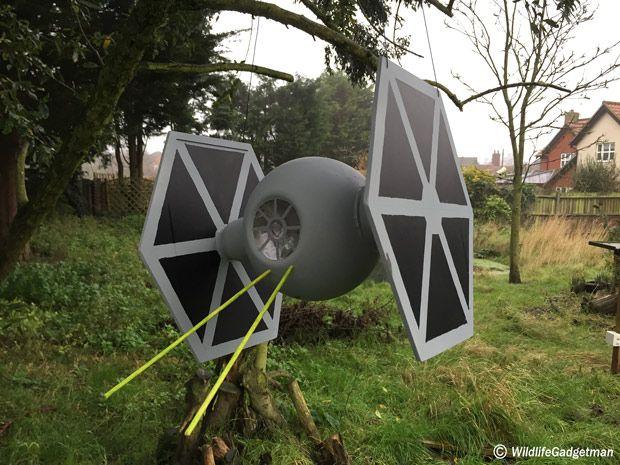 Star Wars Inspired Bird Feeders Star Wars Halloween Decorations Star Wars Inspired Star Wars Christmas Tree