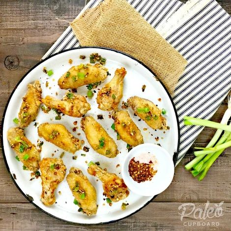 Paleo Salt and Pepper Chicken Wings (so addictive and so tasty!!!)