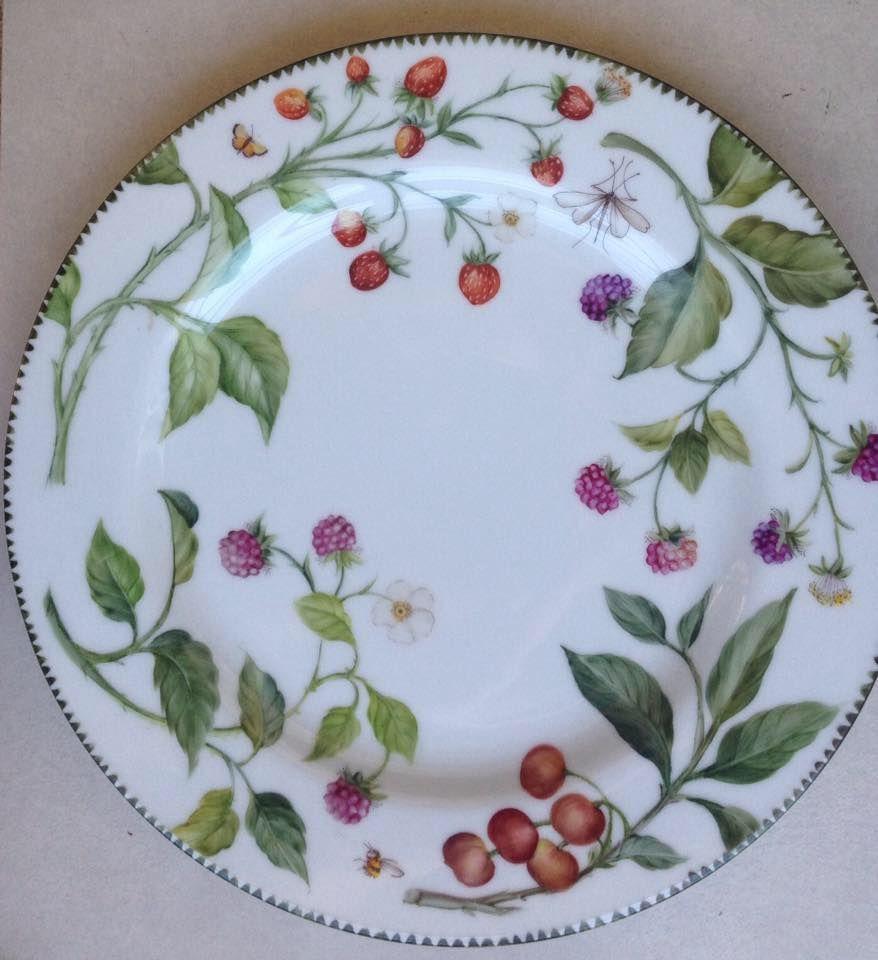 Kuchenteller 20 cm Teller Villeroy /& Boch BOUQUET Nr.4