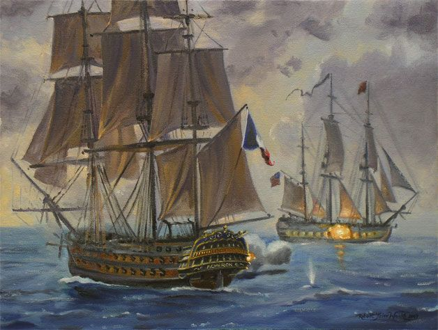 Man of War Ship Spanish | In a private collection | Heart ...