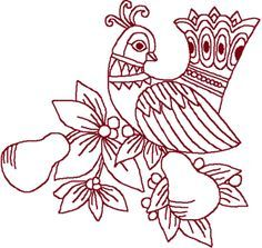 Partridge Color Page