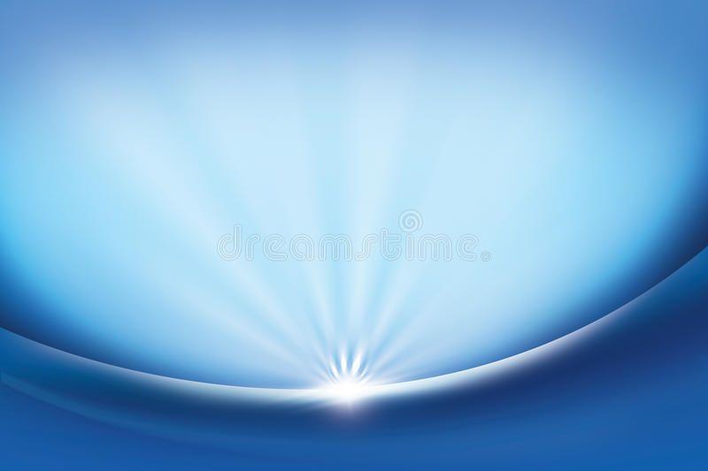 Abstract Background Blue Blue Smooth Abstract Background With