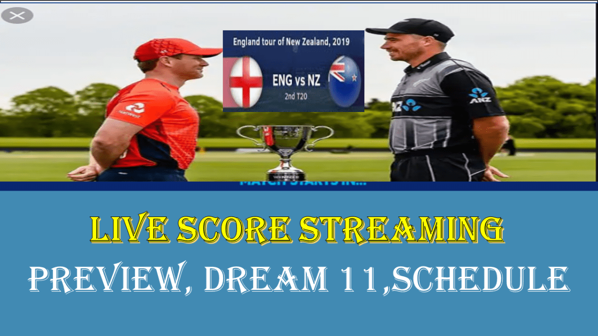 ENG vs NZ 2nd T20I Live Streaming Guide England vs New