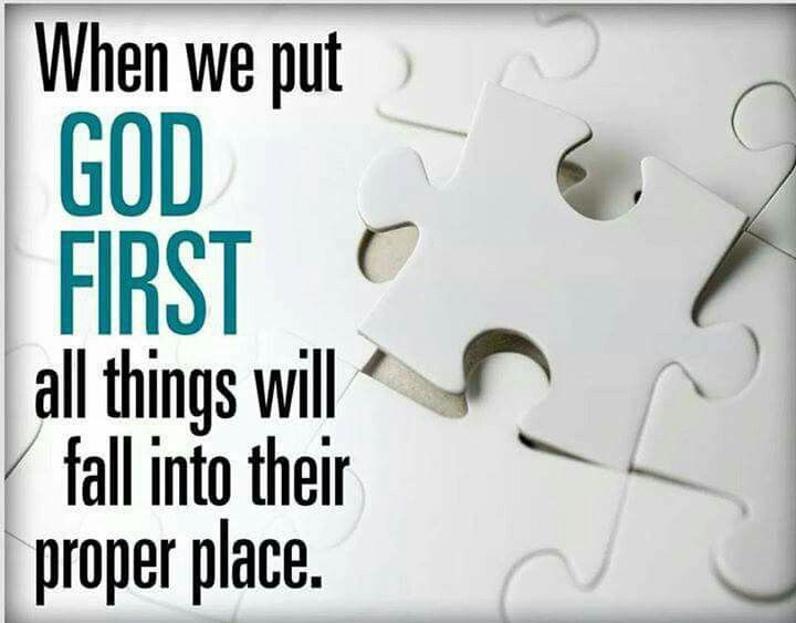 Put God first   Scripture quotes, God first, Scripture